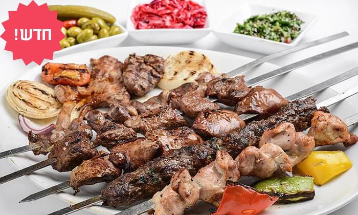 2 ארוחה זוגית במפגש הסטייק, תל אביב