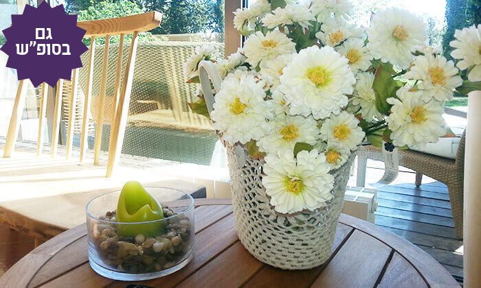 6 חבילת ספא וארוחת בוקר במלון אחוזת אסיינדה ביער, מעלות