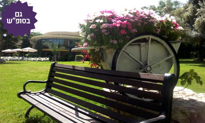 8 חבילת ספא וארוחת בוקר במלון אחוזת אסיינדה ביער, מעלות