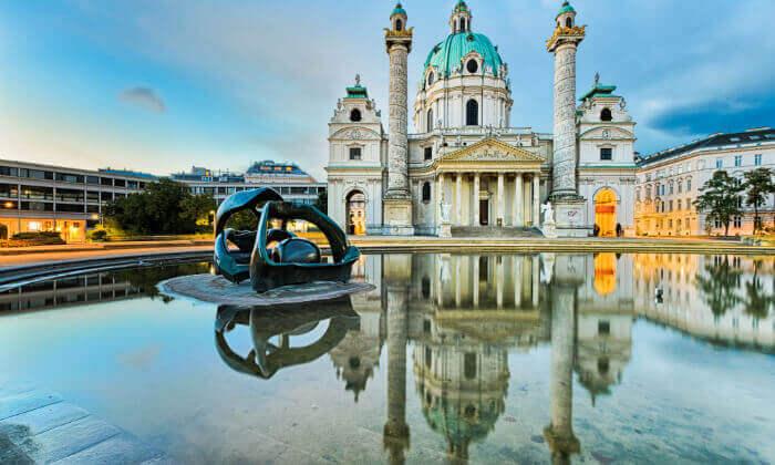 """5 קיץ  בווינה - אטרקציות, נופים ושופינג, כולל סופ""""ש"""