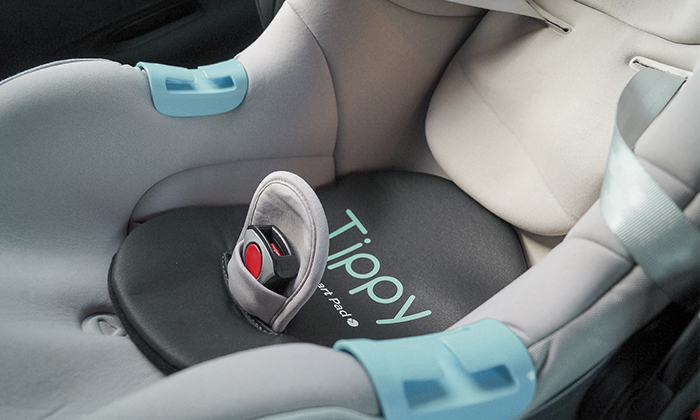 2 Tippy Pad למניעת שכחת ילד ברכב - משלוח חינם