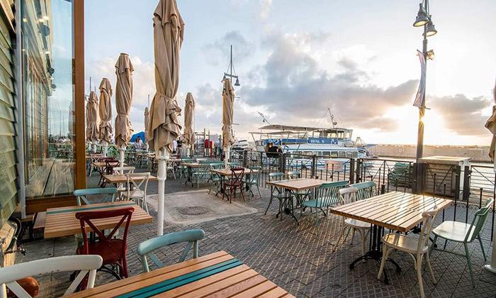9 ארוחה מפנקת במסעדת סיקיליה, נמל יפו