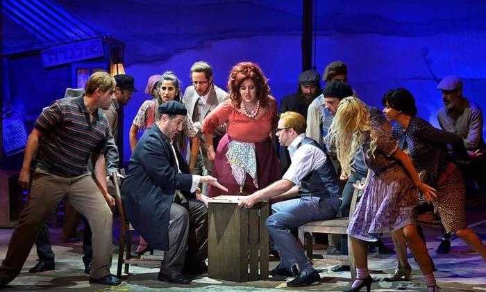 5 כרטיסים למחזמר 'סאלח שבתי' בכיכובו של איציק כהן, מגוון מיקומים