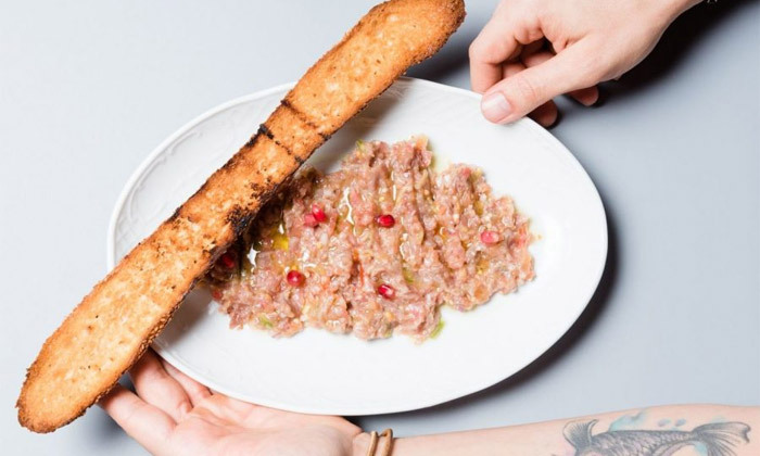 """6 ארוחה זוגית במסעדת סופרה Supra, רוטשילד ת""""א"""