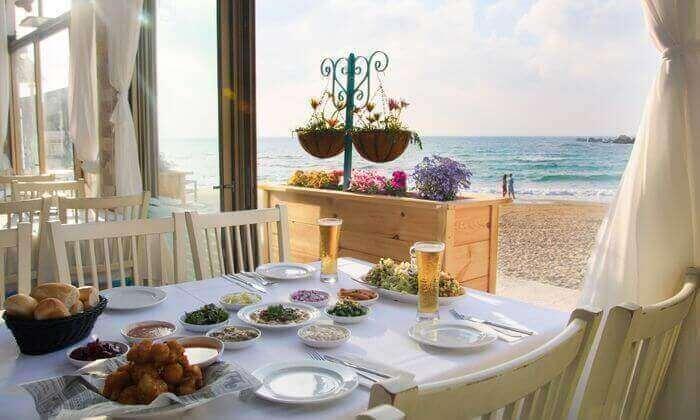6 ארוחה זוגית עם קינוח במסעדת בני הדייג, ראשון לציון