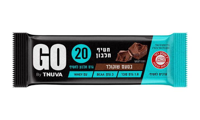 3 24 חטיפי חלבון תנובה GO - טעמים לבחירה