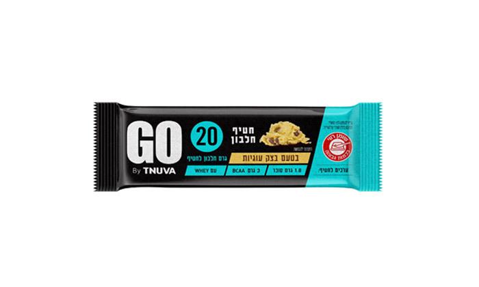 4 24 חטיפי חלבון תנובה GO - טעמים לבחירה